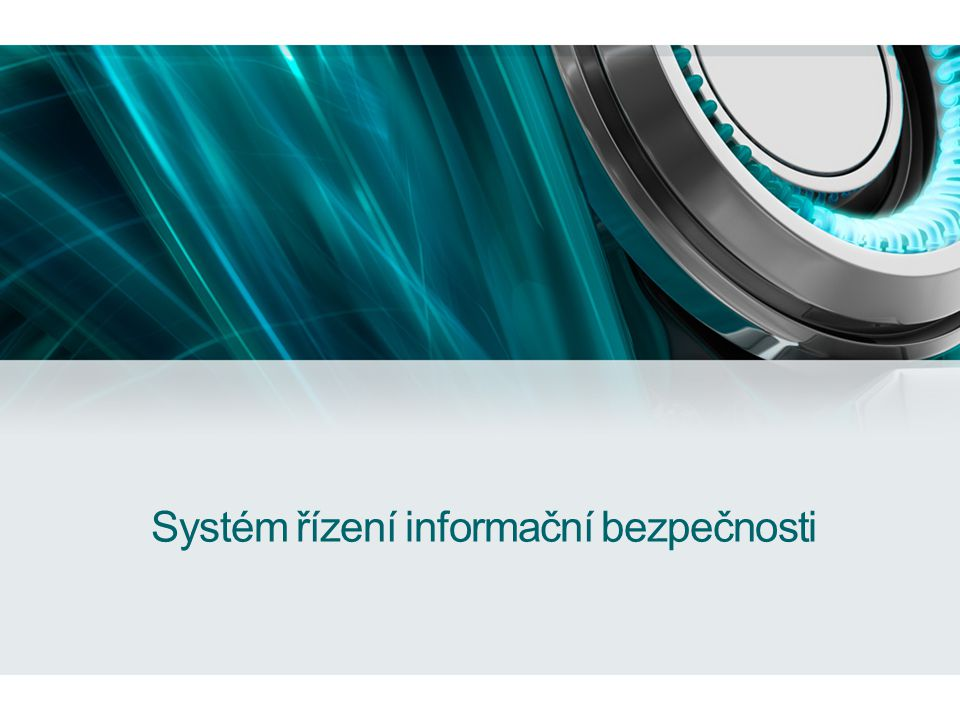 Systém řízení informační bezpečnosti