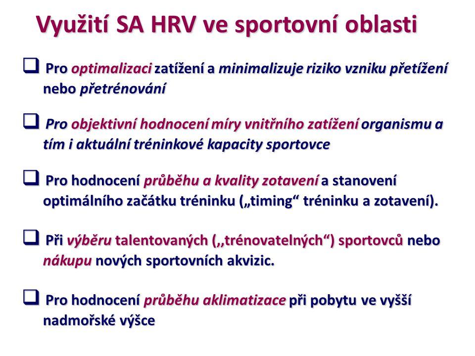 SA HRV a preskripce PA: VAGOVÝ PRÁH definice, výpočet a možné využití v praxi Botek, M., Stejskal, P., Krejčí, J., Jakubec, A., & Gába, A.