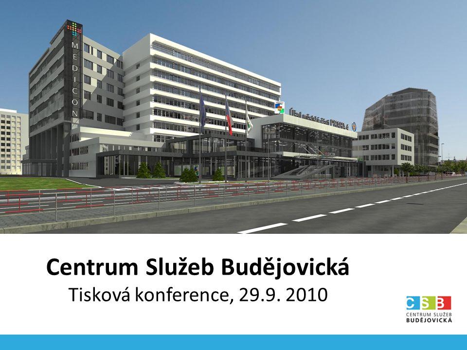 Centrum Služeb Budějovická Tisková konference, 29.9. 2010