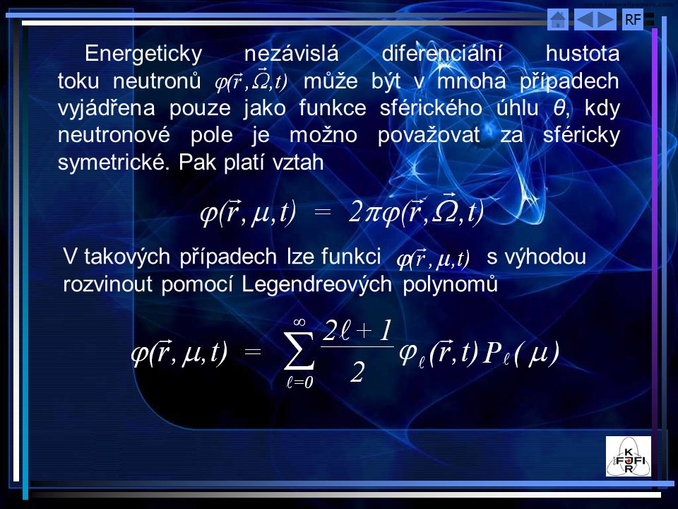 RF Obr 4.5 Závislost κ/Σ t na Σ s /Σ t