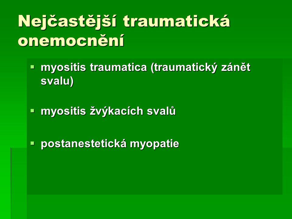 Polysaccharide storage myopathy  Qarter horse, chladnokrevníky, teplokrevníky, jejich křížence  příčina  Dědičné onemocnění  Autozomálně recesivně dědičné  Abnormální nahromadění glykogenu a jeho patologické formy ve svalových vláknech  Klinika  Nástup klinických příznaků vázán na zátěž  Ztuhlost, obtížný pohyb, odmítání pohybu
