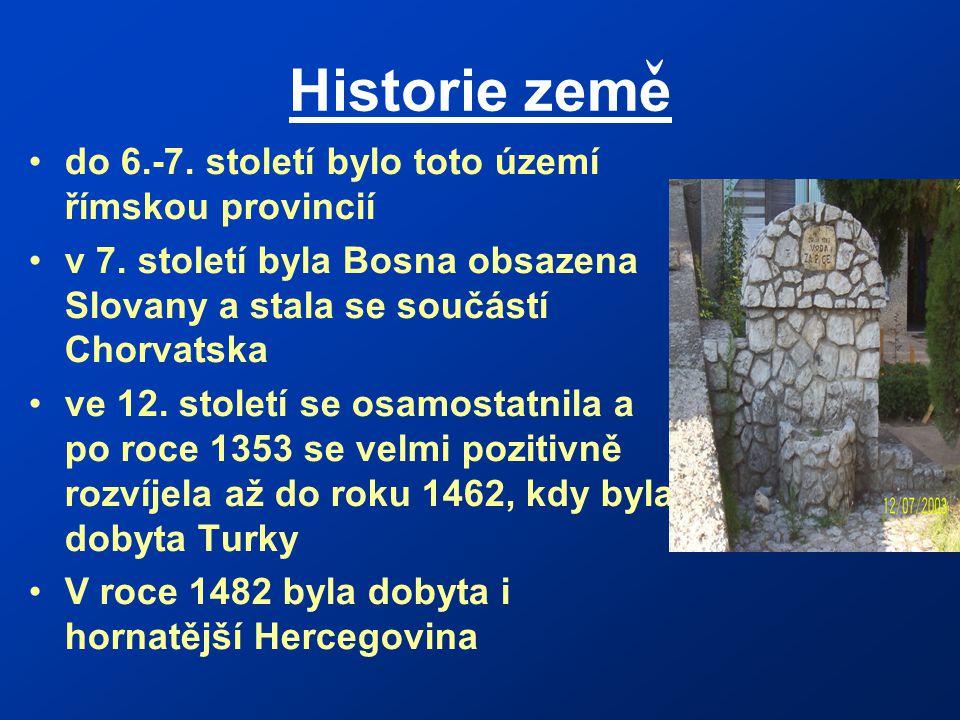 Historie zeme do 6.-7.století bylo toto území římskou provincií v 7.