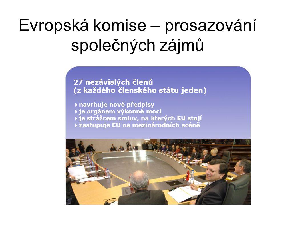 Evropský parlament Další instituce EU EU Soudní dvůrÚčetní dvůrHospodářský a sociální výbor Výbor regionů Rada ministrů (Rada Evropské unie) Evropská komise Evropská investiční bankaEvropská centrální banka Agentury Evropská rada (summit)
