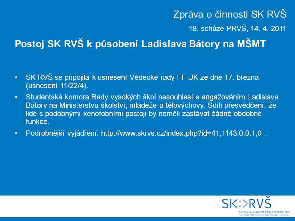 SK RVŠ se připojila k usnesení Vědecké rady FF UK ze dne 17.