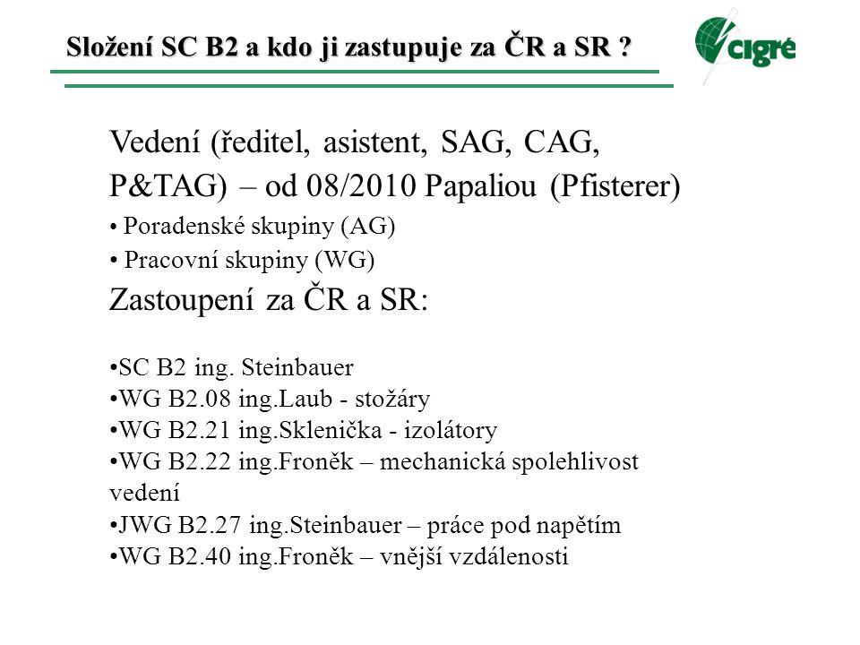 Složení SC B2 a kdo ji zastupuje za ČR a SR .