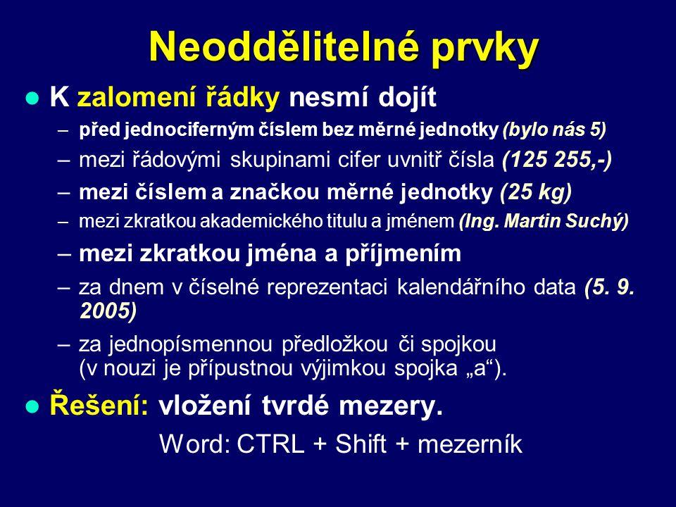 Spojovník  pomlčka Použití pomlčky:  oddělení větných celků Dobré pivo – nejlépe Plzeň – neodmítnu.
