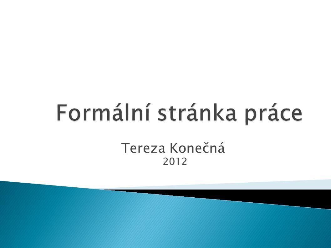 Tereza Konečná 2012