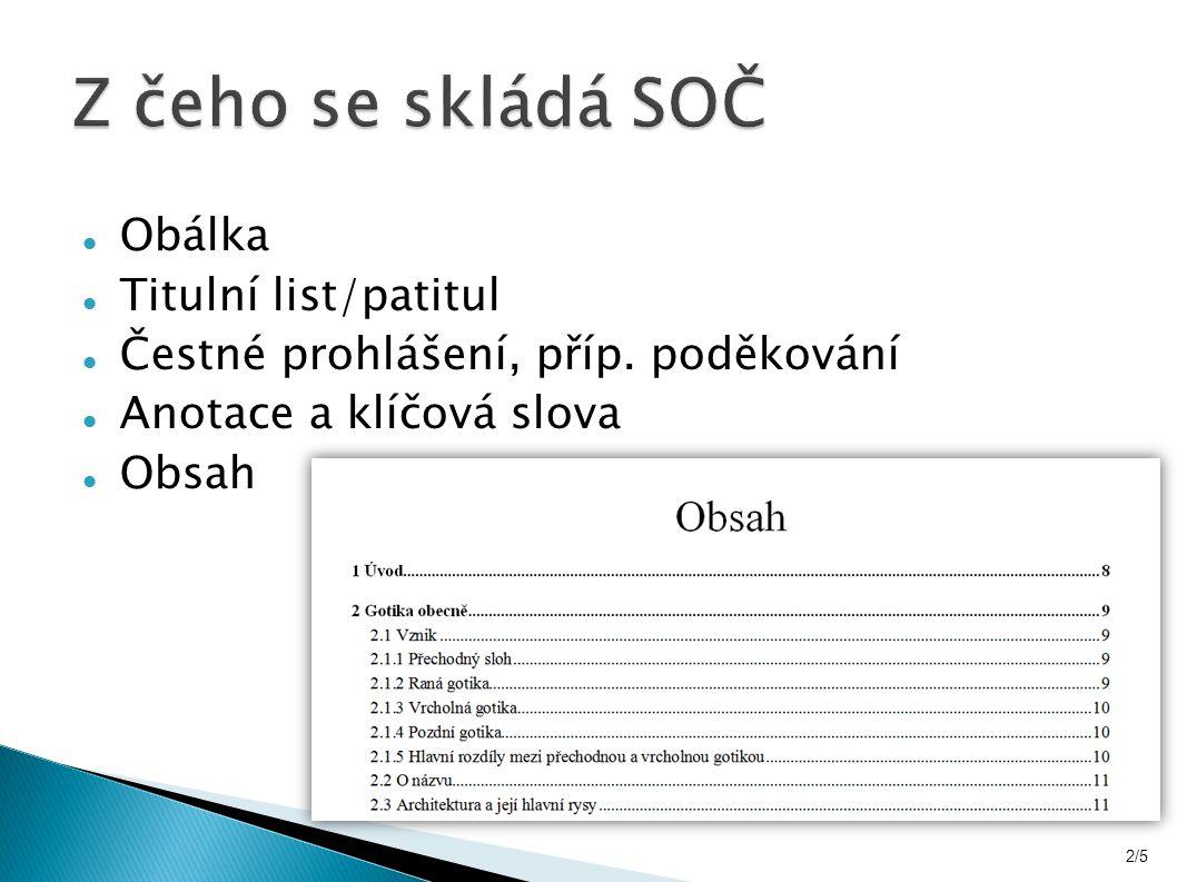 Seznam literatury řadíme abecedně podle příjmení autora Se správným citováním pomůže norma ČSN ISO 690 nebo web www.citace.com 7/5