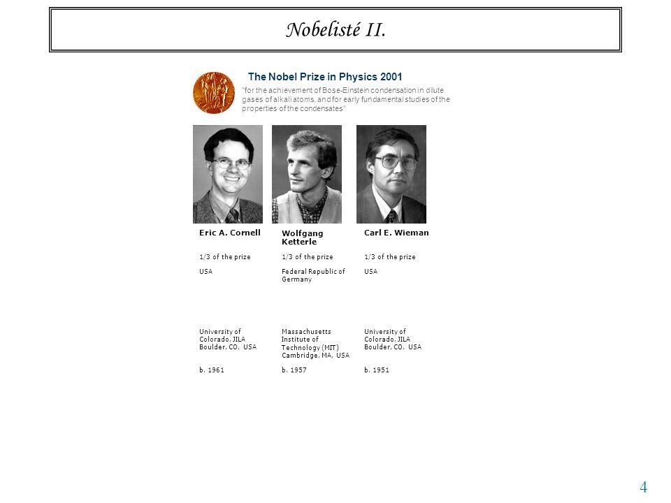 4 Nobelisté II.