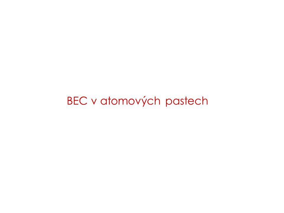 BEC v atomových pastech