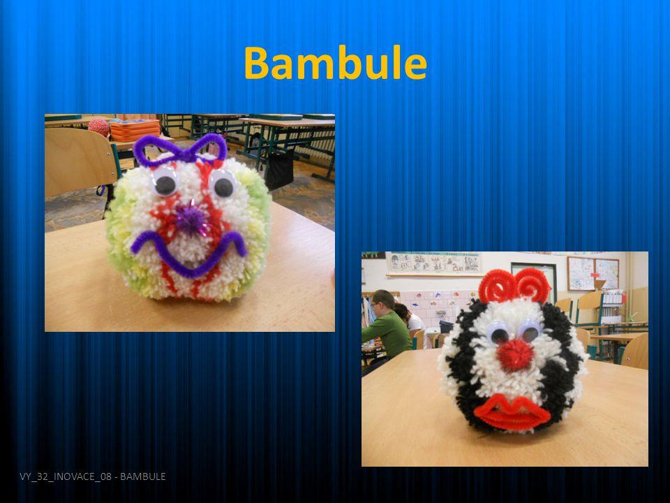 Bambule VY_32_INOVACE_08 - BAMBULE