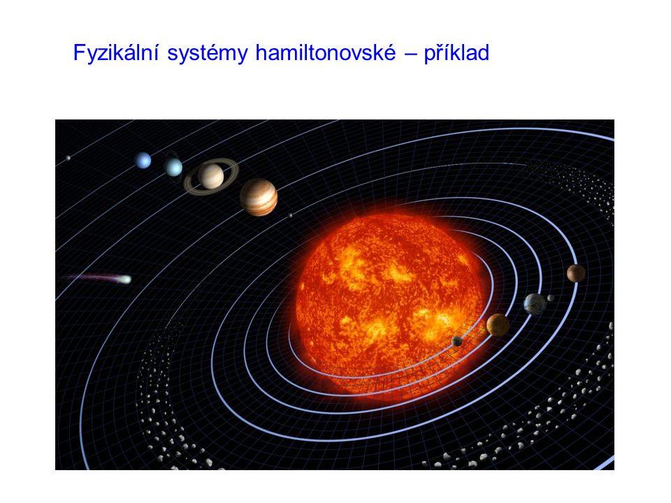 Fyzikální systémy hamiltonovské – příklad