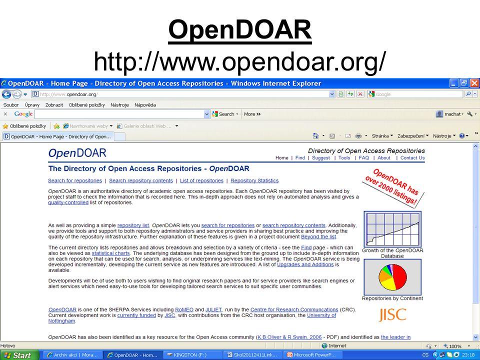 OpenDOAR http://www.opendoar.org/