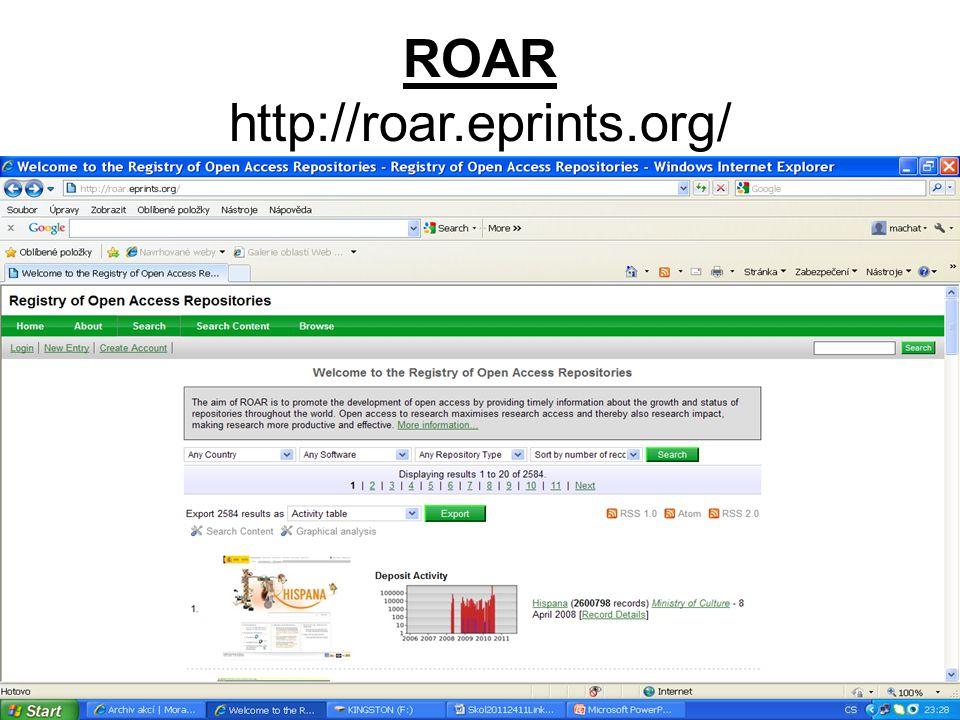 ROAR http://roar.eprints.org/