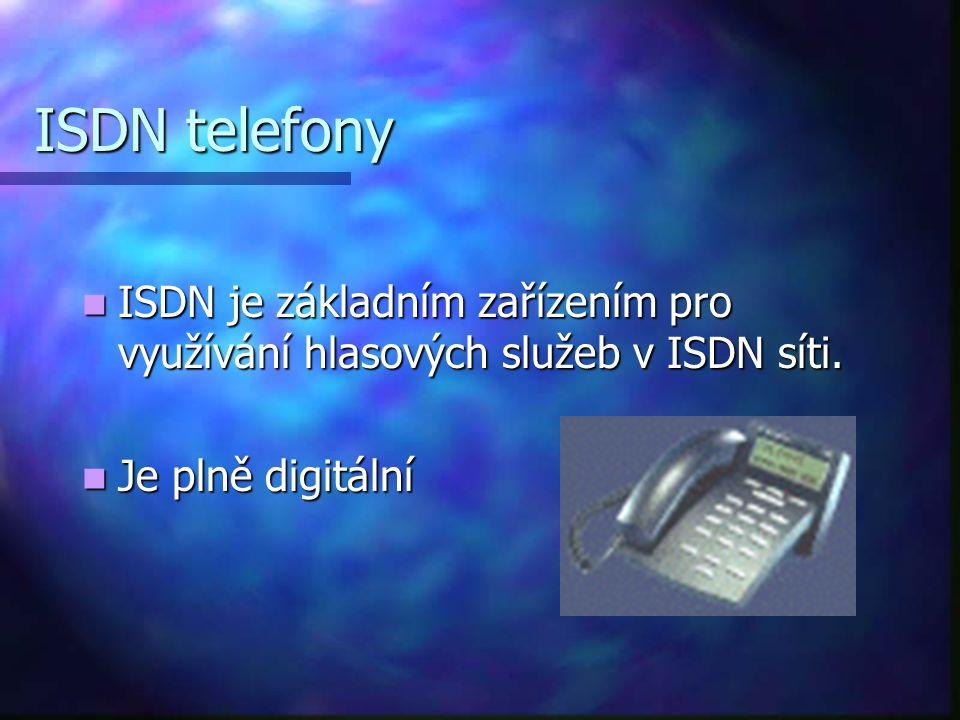 tj. digitální síť integrovaných služeb napovídá, že jde o zcela nový přístup k využívání telefonní linky tj. digitální síť integrovaných služeb napoví