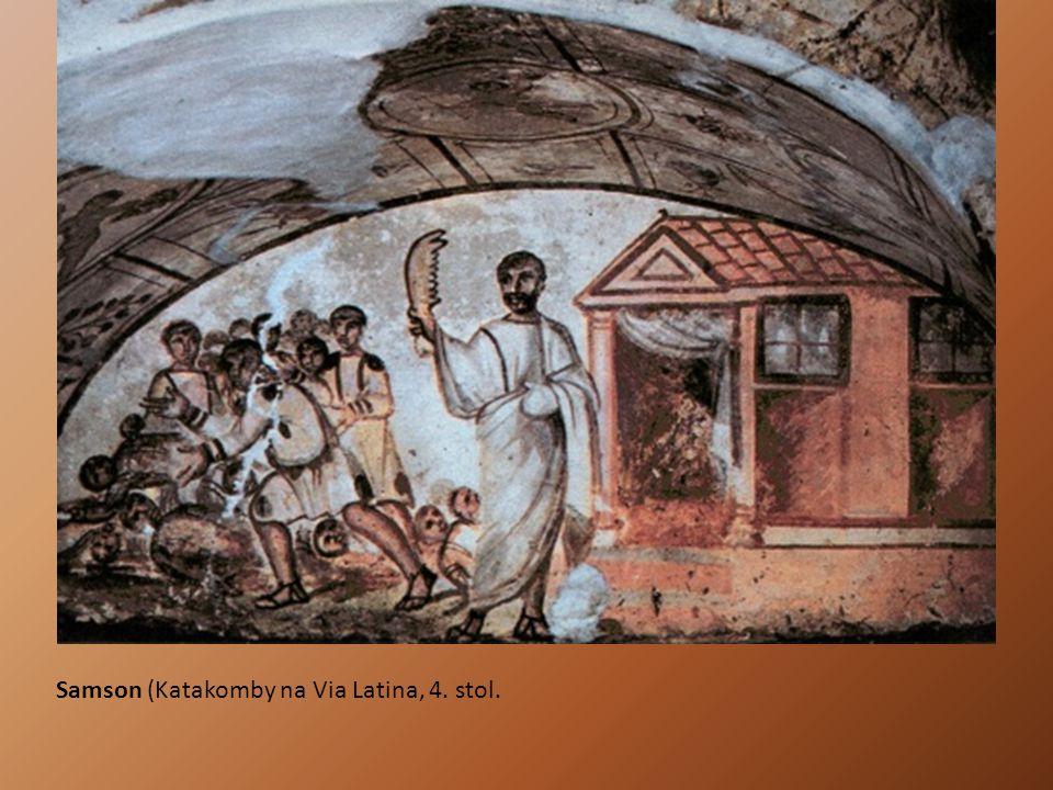 Samson (Katakomby na Via Latina, 4. stol.