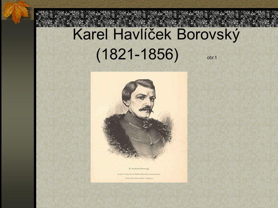 Karel Havlíček Borovský (1821-1856) obr.1