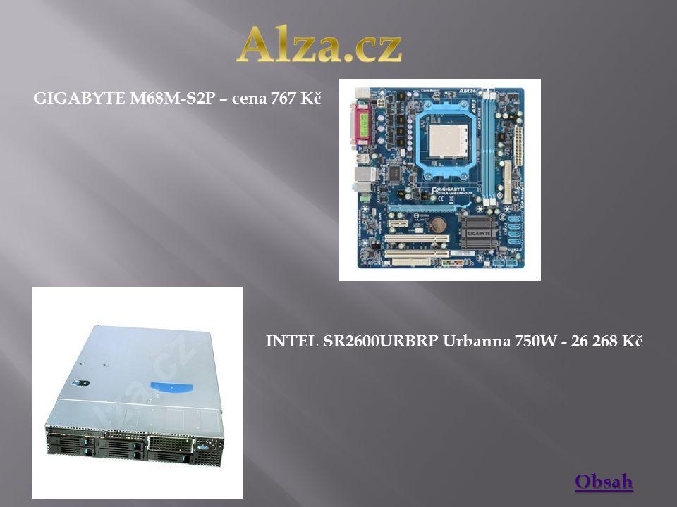 MSI K9N6PGM2-V2 - 848 Kč INTEL D5400XS SKULLTRAIL - 13 106 Kč Obsah