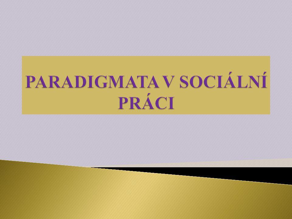  Znázorňují rozdílné nahlížení na sociální fungování….