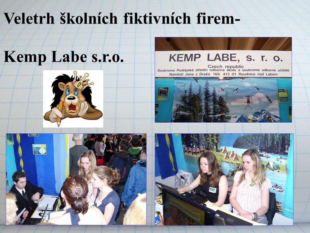 Veletrh školních fiktivních firem- Kemp Labe s.r.o.