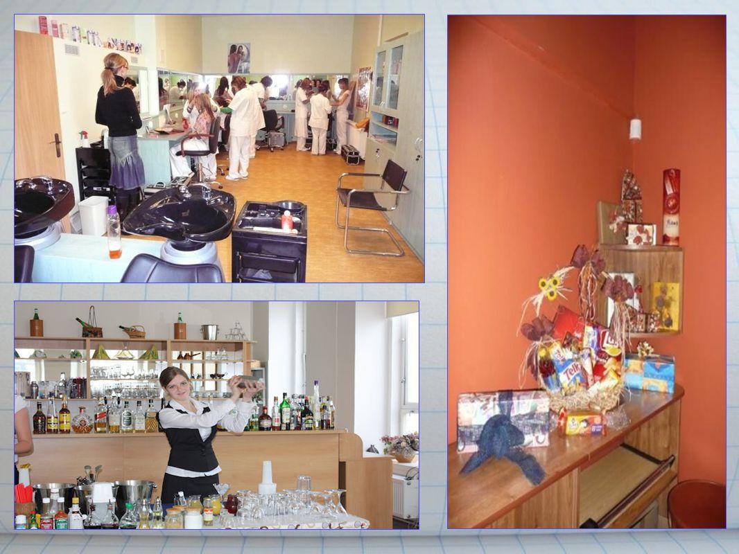 Školní kadeřnictví Nabídka služeb: dámské - stříhání, barvení, melírování...