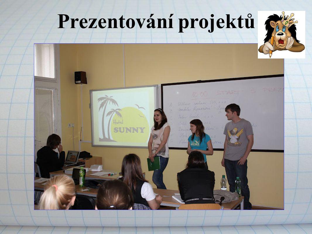 Prezentování projektů