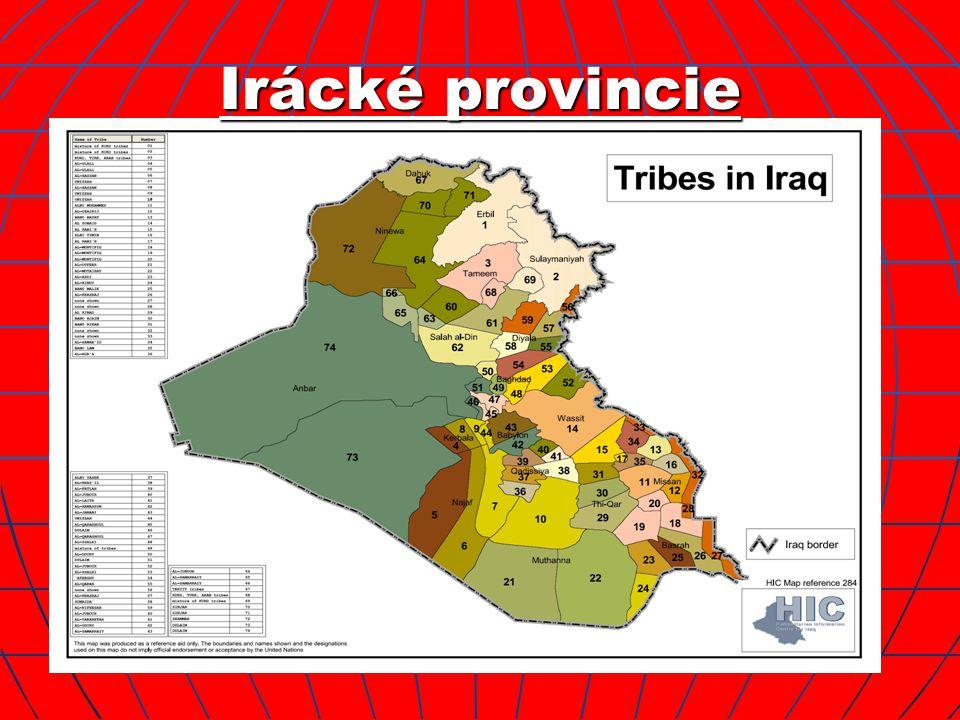 Irácké provincie