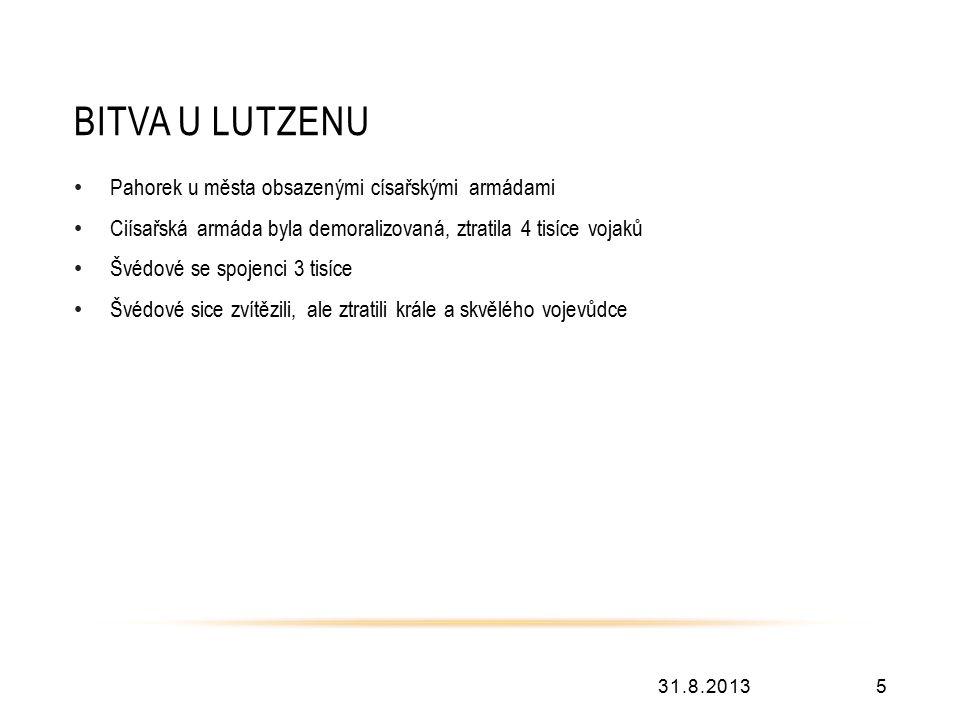 POUŽITÉ ZDROJE 31.8.20136 Bitvy, které změnily svět, nakladatelství Svojtka and Co., s.r.o.2012.