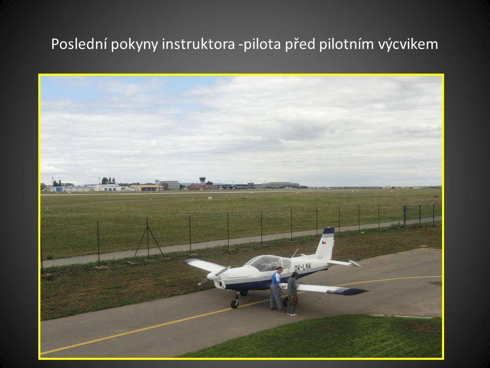 Konzultace mezi piloty
