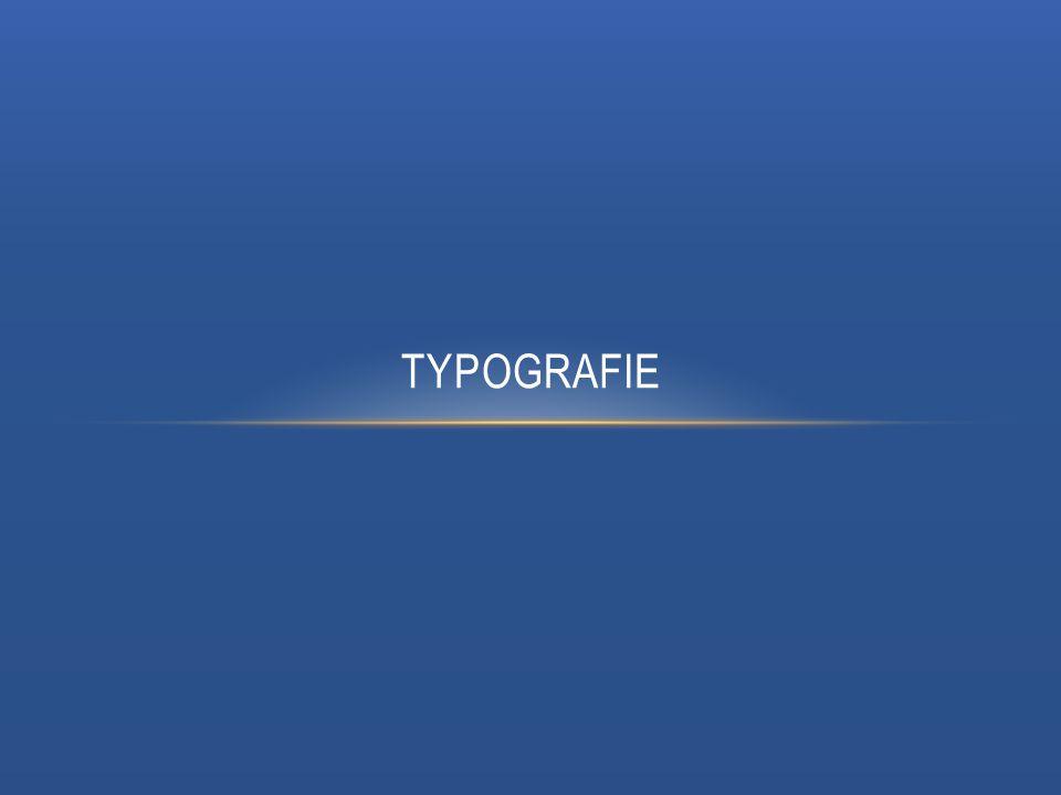 VÝZNAM TYPOGRAFIE Typografie je technicko-umělecký obor zabývající se tvorbou písma a úpravou textu, Úzce souvisí s jazykovou mluvnicí, Na rozdíl od ní ji ovládá mnohem méně lidí, Jazyková mluvnice se vyučuje na školách od nepaměti, Typografií se zabývali v dřívějších dobách pouze profesionální sazeči v tiskárnách, Zlom přišel s masivním nasazením osobních počítačů, Od té doby si může každý vytisknout svůj dokument doma nebo ve firmě.
