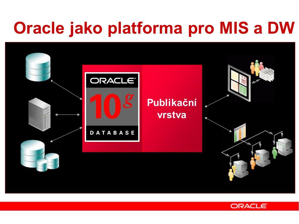 Oracle jako platforma pro MIS a DW