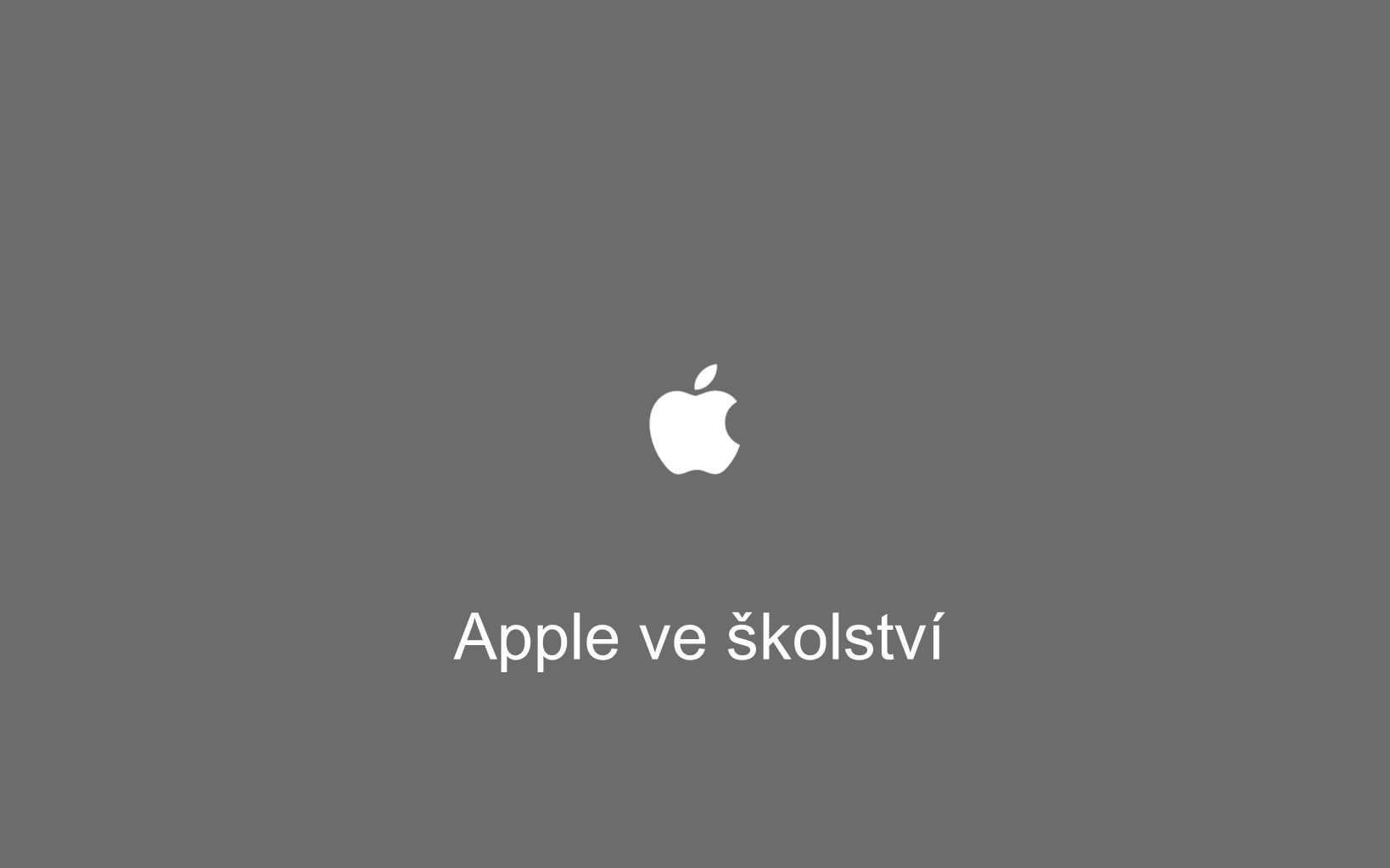 Apple ve školství