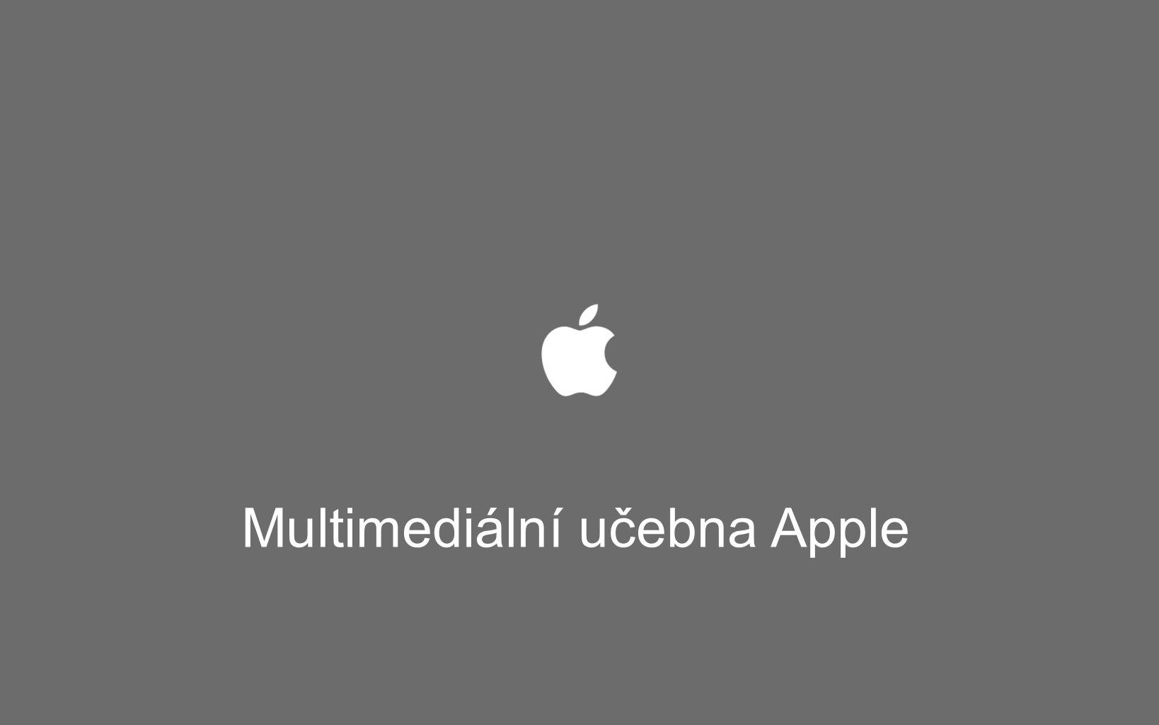 Multimediální učebna Apple