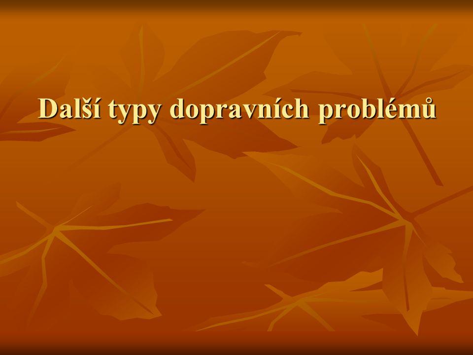Přiřazovací problém Stejný počet dodavatelů a spotřebitelů (m) Stejný počet dodavatelů a spotřebitelů (m) Čtvercová matice sazeb Čtvercová matice sazeb Přiřazení 1:1 Přiřazení 1:1 Silně degenerovaná řešení Silně degenerovaná řešení Maďarská metoda Maďarská metoda