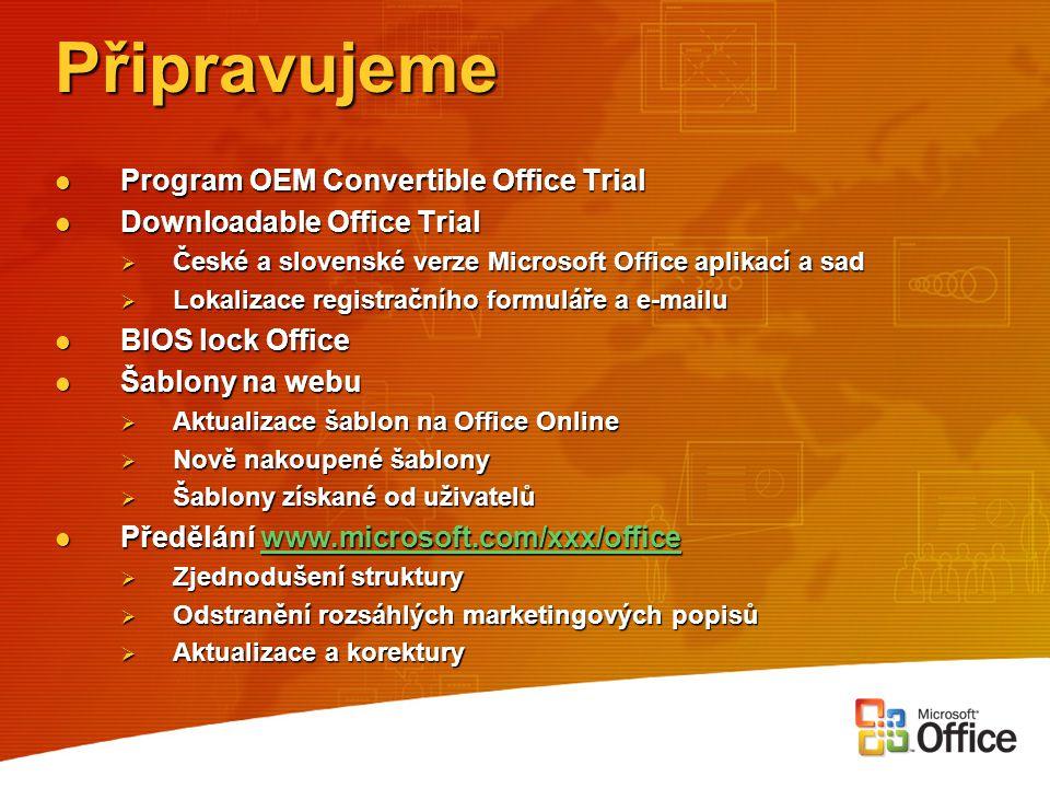 Zvažte náklady na školení Kolik zaměstnanců vyžaduje při nástupu školení na Microsoft Office.