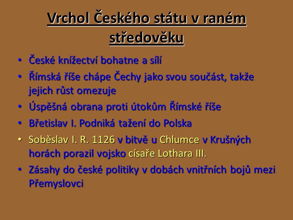 První čeští králové Nejstarší český zákoník vydal Břetislav I.
