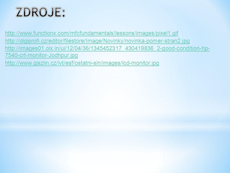 http://www.functionx.com/mfcfundamentals/lessons/images/pixel1.gif http://digiprofi.cz/editor/filestore/Image/Novinky/novinka-pomer-stran2.jpg http://images01.olx.in/ui/12/04/36/1345452317_430419836_2-good-condition-hp- 7540-crt-monitor-Jodhpur.jpg http://www.gjszlin.cz/ivt/esf/ostatni-sin/images/lcd-monitor.jpg