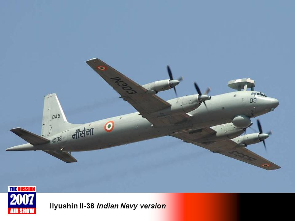 Ilyushin Il-38 Indian Navy version
