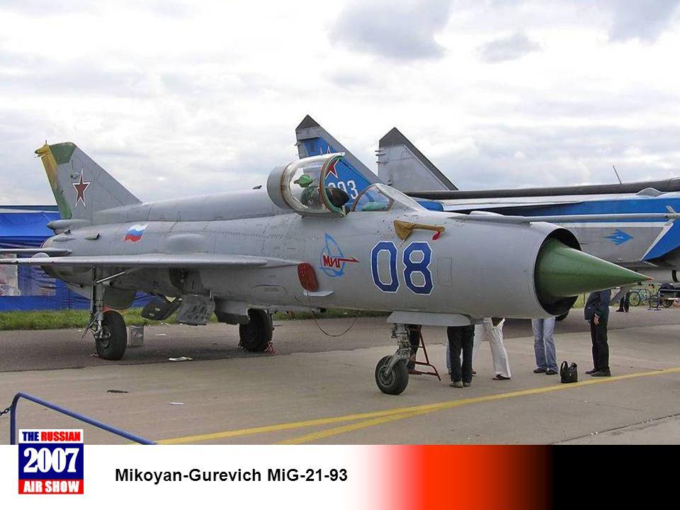 Mikoyan-Gurevich MiG-21-93