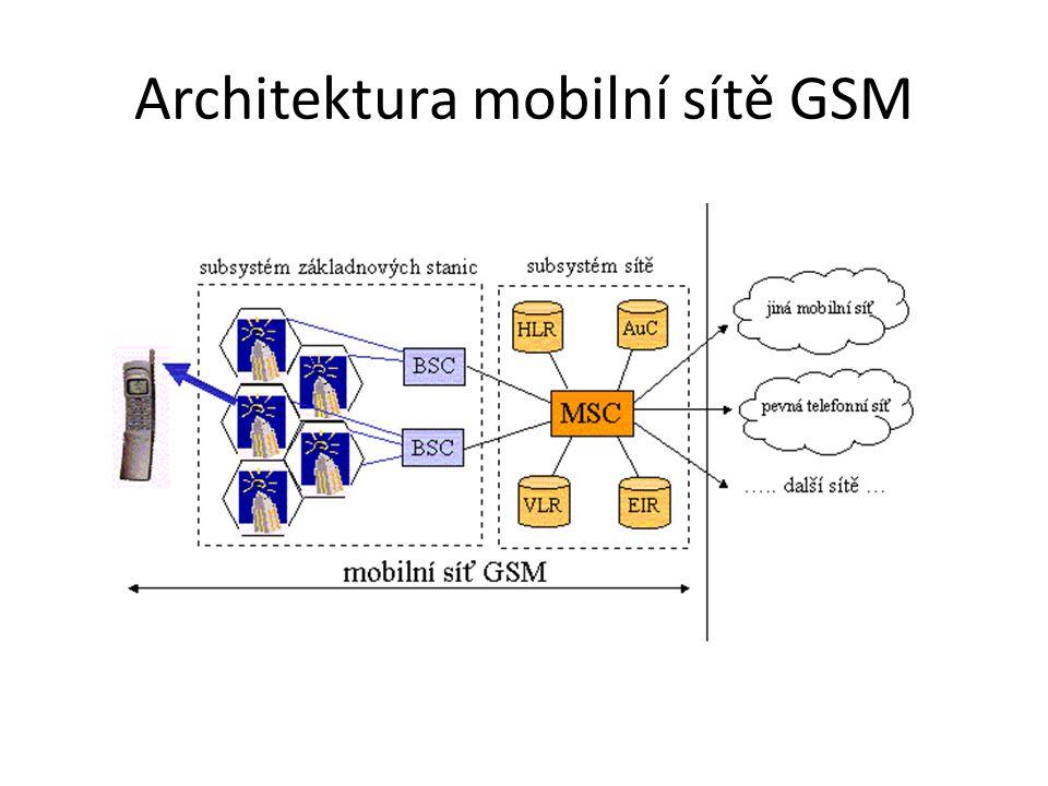 – iDen (Integrated Digital Enhanced Network) - rozšííření sítě TDMA pro dodatkové služby jako SMS a Push to talk 2,5G – obsahuje standard GPRS (General Packet Radio Service) – mobilní datová služba pro uživatel GSM.