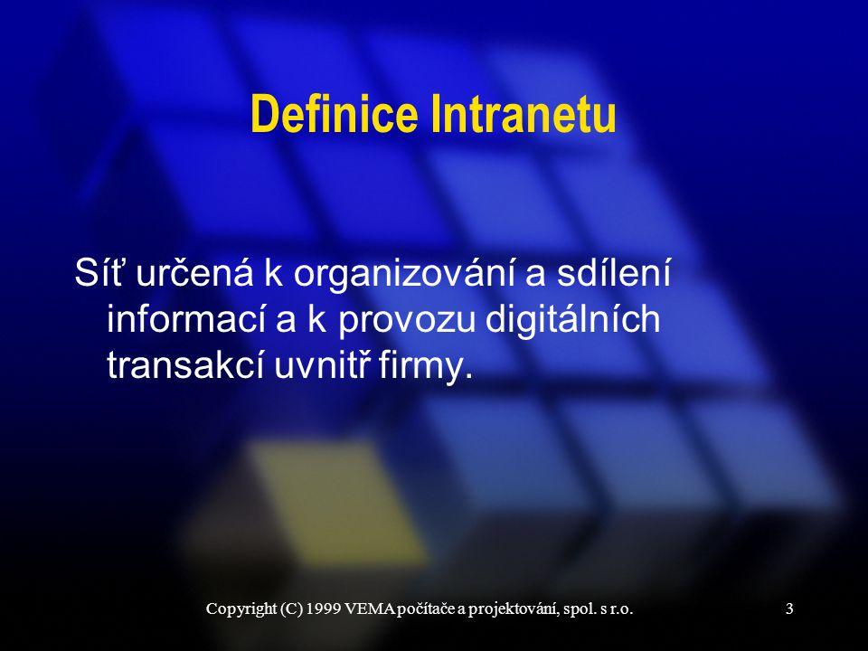 Copyright (C) 1999 VEMA počítače a projektování, spol. s r.o.14 VEMA G1 - vygenerování FDF zprávy