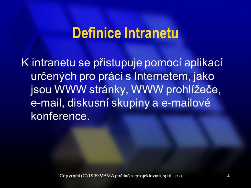 Copyright (C) 1999 VEMA počítače a projektování, spol. s r.o.25