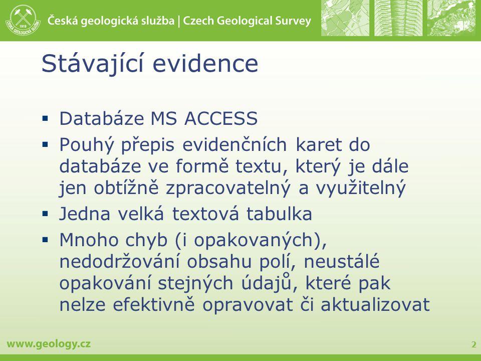 3 MS Access – jedna velká tabulka Toto není pohled (view)!!! Toto je datová tabulka!!!