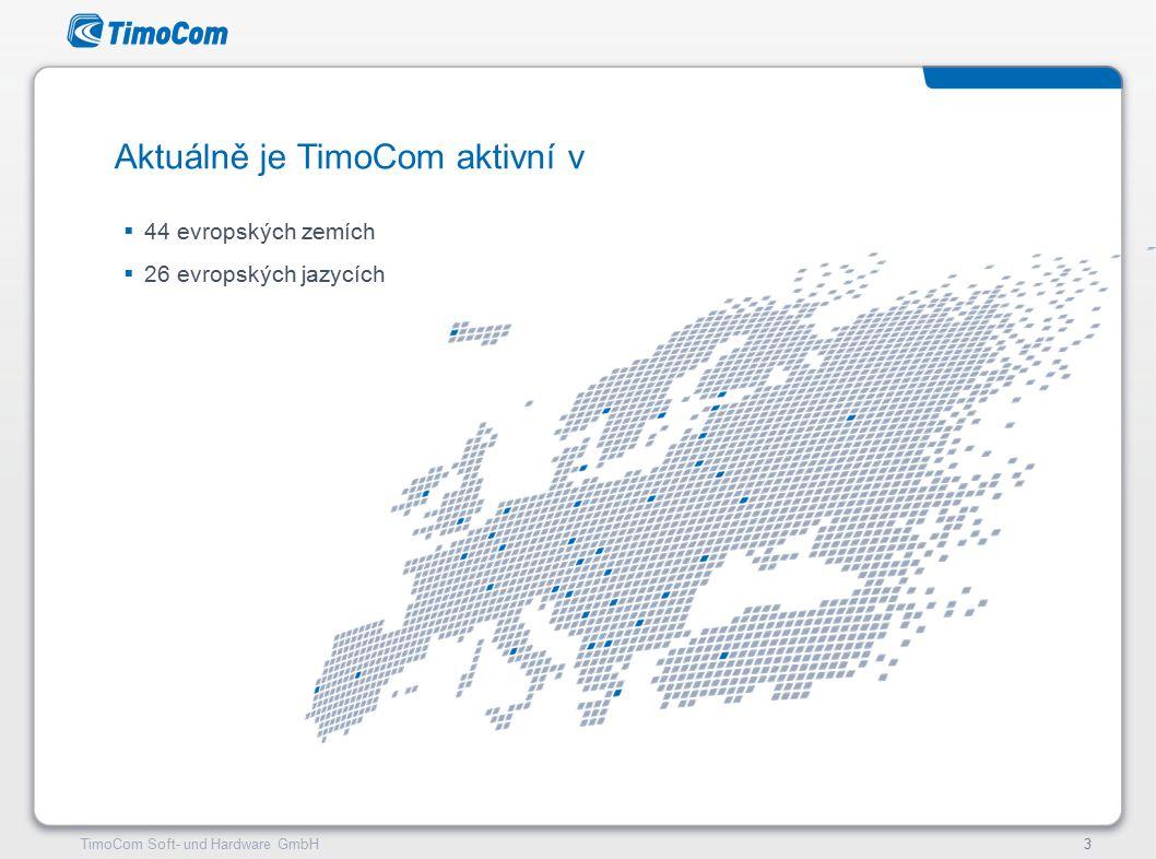 TimoCom – le futur du transport !4TimoCom Soft- und Hardware GmbH4 Bezpečně na trhu jednorázových přeprav