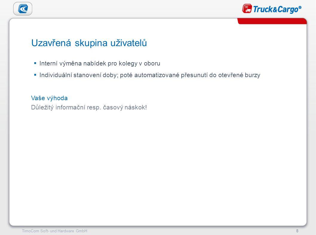TimoCom – le futur du transport !9TimoCom Soft- und Hardware GmbH9 Minimální technické požadavky:  OS Windows  Přístup k internetu  Aktuální internetový prohlížeč(Internet Explorer, Mozilla Firefox)  Rozlišení obrazovky minimálně 1024 x 768 pixelů Systémové požadavky