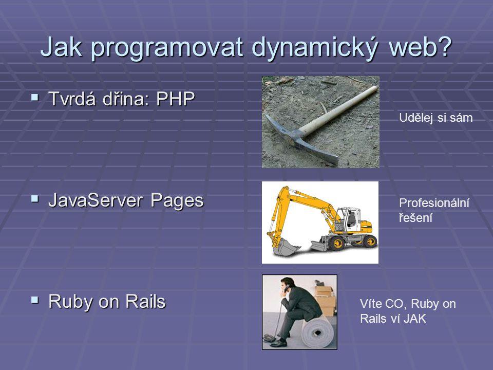 Jak programovat dynamický web.