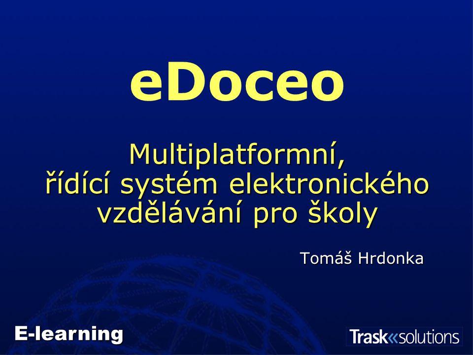 """Pojem """"e-learning   Komplexní elektronické vzdělávání   Mnoho forem (CBT, Web books, EPPS …)   LMS a software pro tvorbu el."""
