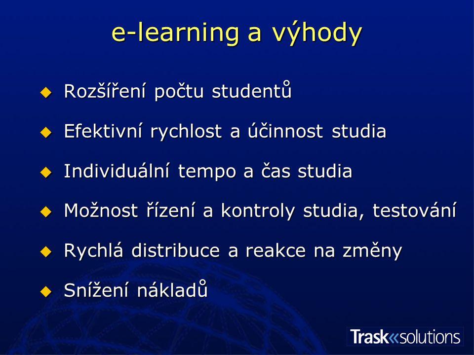 e-learning a nevýhody .