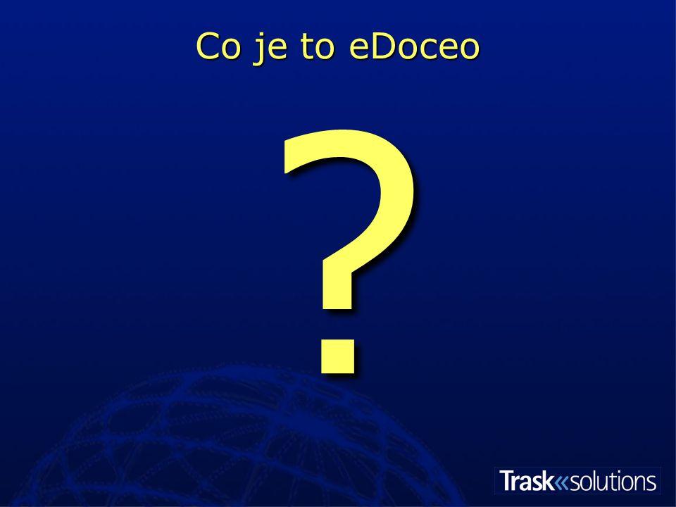 eDoceo je … Learning Management System … téměř krabicové řešení