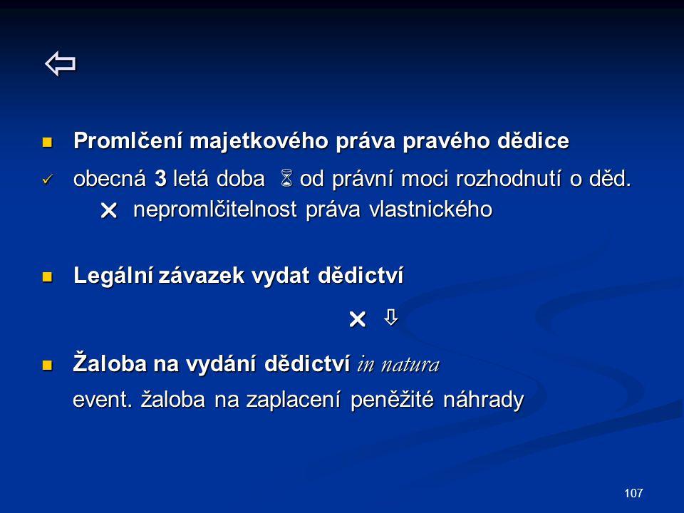 108  Předmět vydávacího závazku Předmět vydávacího závazku 1.